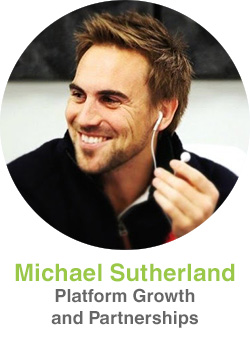 Michael Sutherland, Platform Growth and Partnerships
