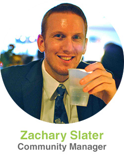 Zachary Slater, Community Manager