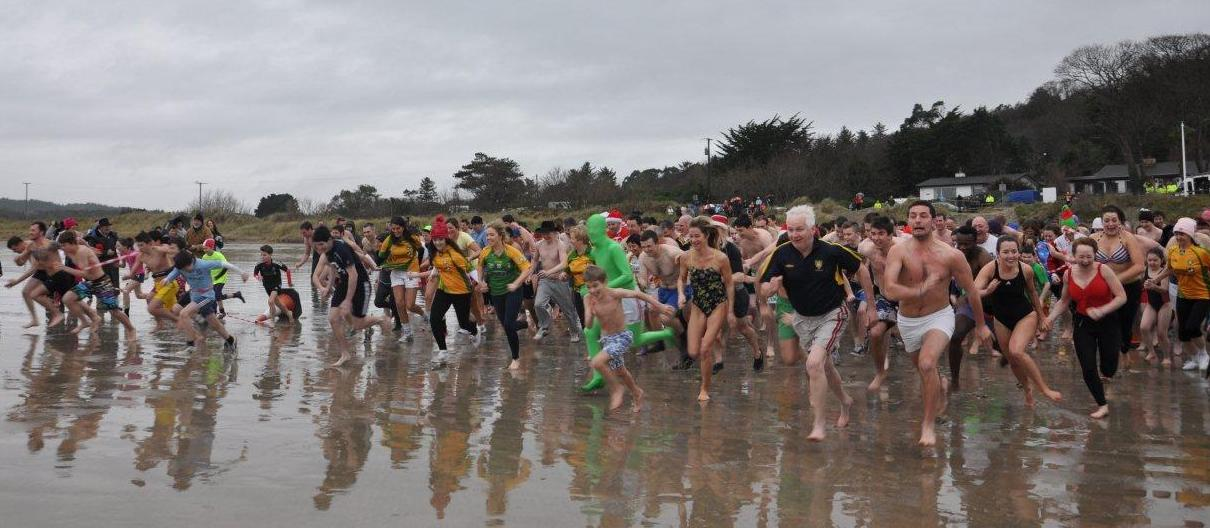 New Year's Day Charity Swim in aid of GROW