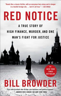 Book Cover for RED NOTICE by Bill Browder