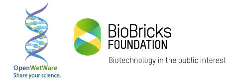 OpenWetWare and BioBricks Foundation logo