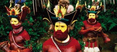 Image of Papua New Guinea Warriors