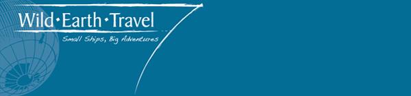 Wild Earth Travel logo/banner