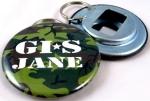 GIS Jane Bottle Opener