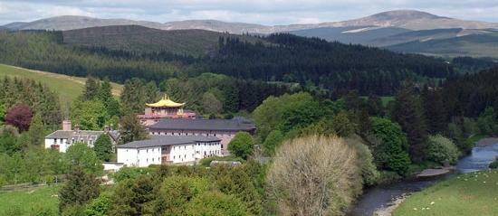 Samye Ling monastery in Eskdalemuir