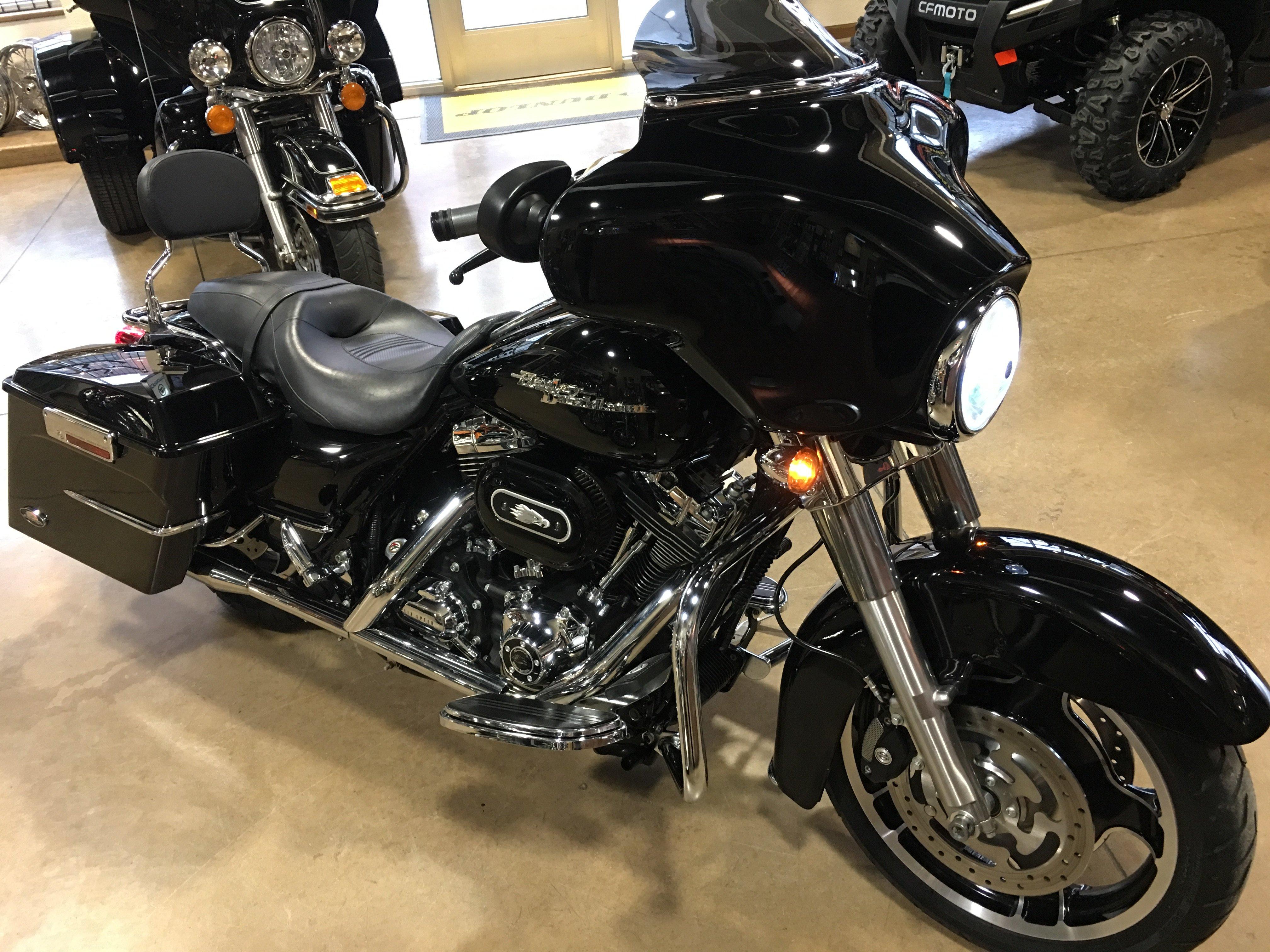2008 Harley-Davidson FLHX Street Glide Black