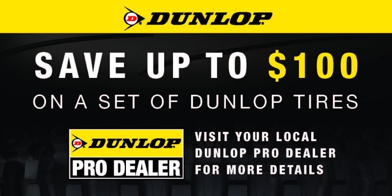 Dunlop Tires June Rebates