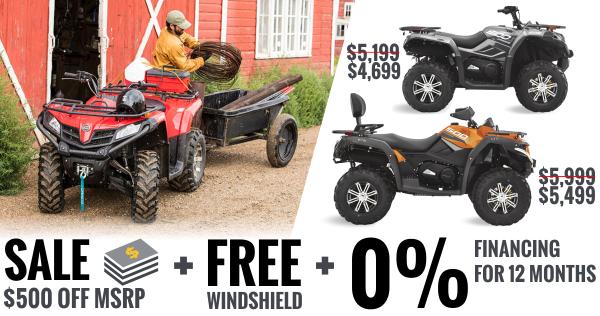CFMOTO ATV Deals