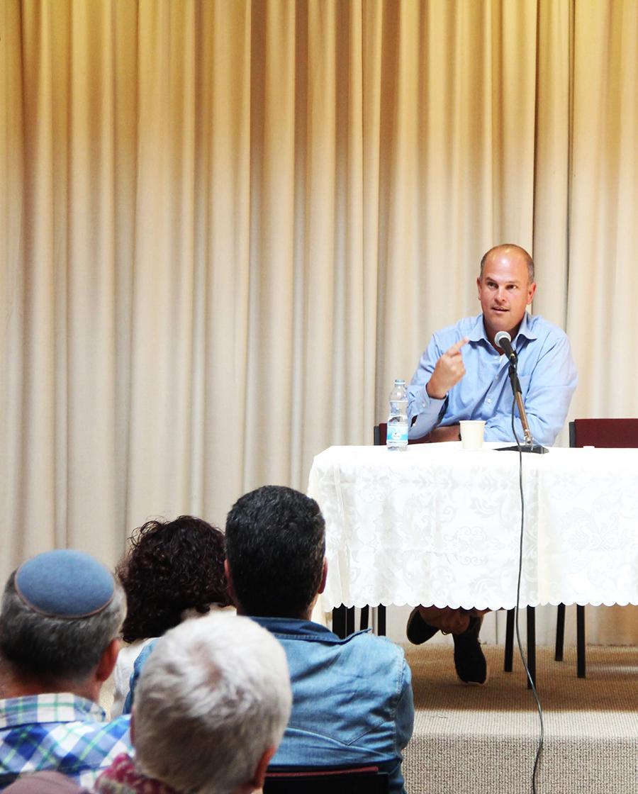 הרצאה מיכה גודמן