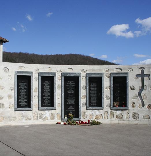 """Monument to Silenced Victims"", Grahovo Slovenia, photoby Božidar Flajsman"