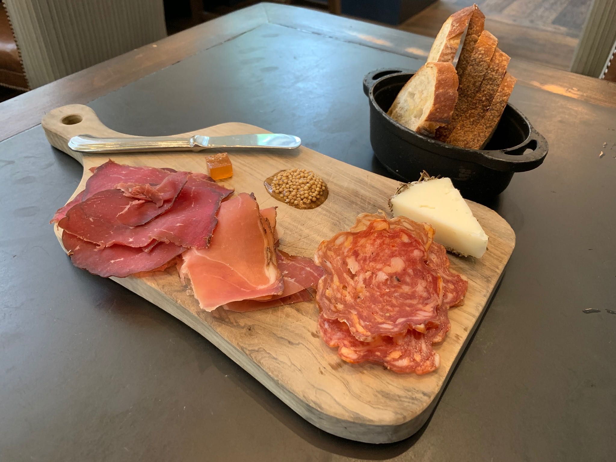 Charcuterie at The Nickel at Hotel Teatro