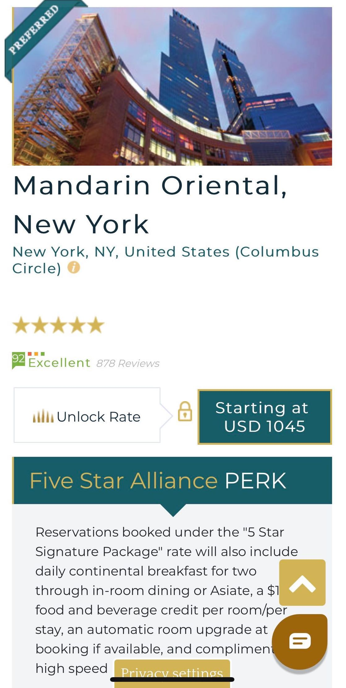 New Five Star Alliance Listing Page