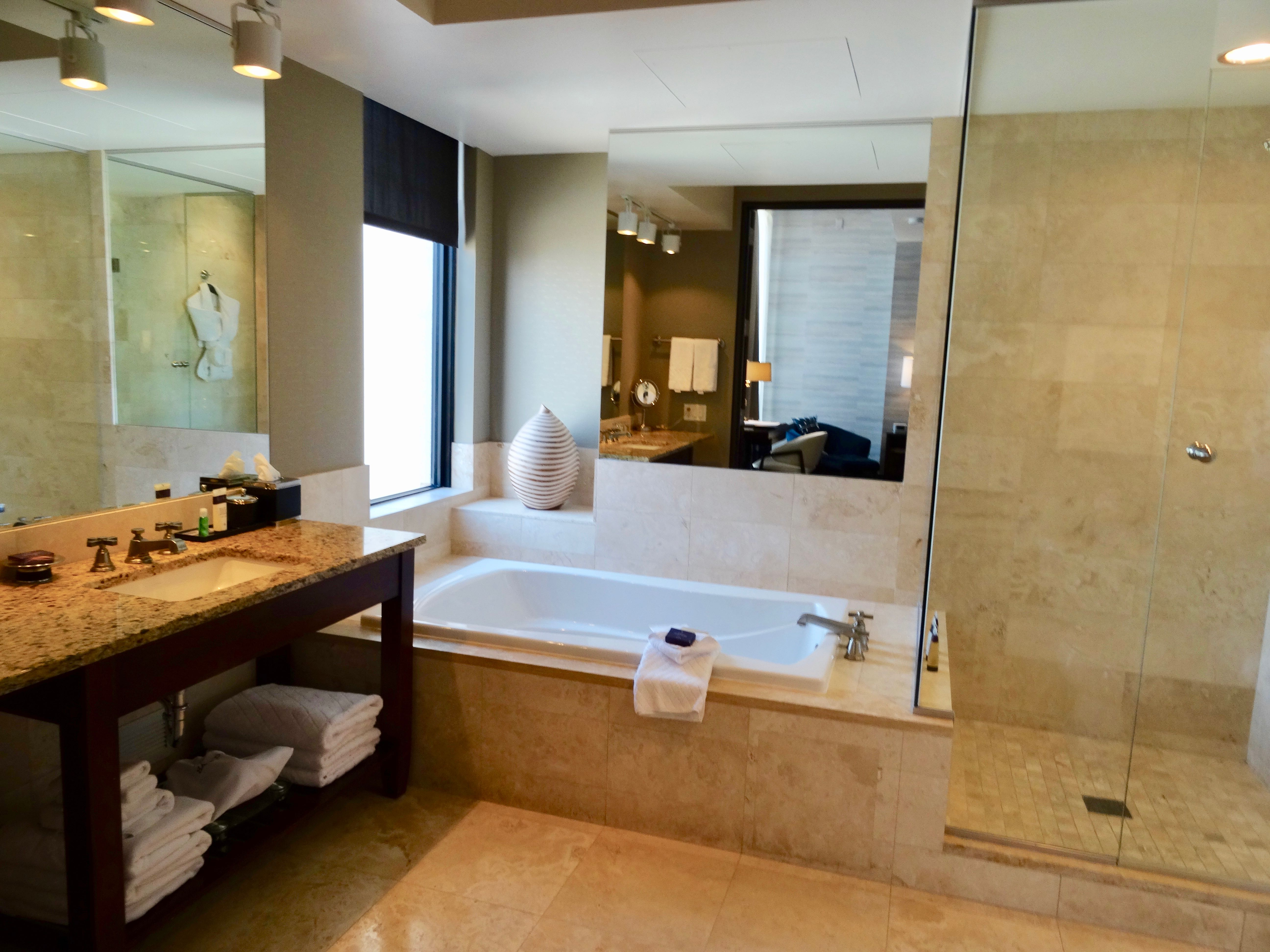 Grand Deluxe Room Bathroom at Hotel Ivy Minneapolis