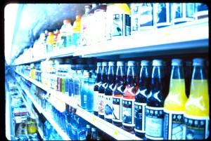 Rack of soda