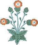 Footer flower image