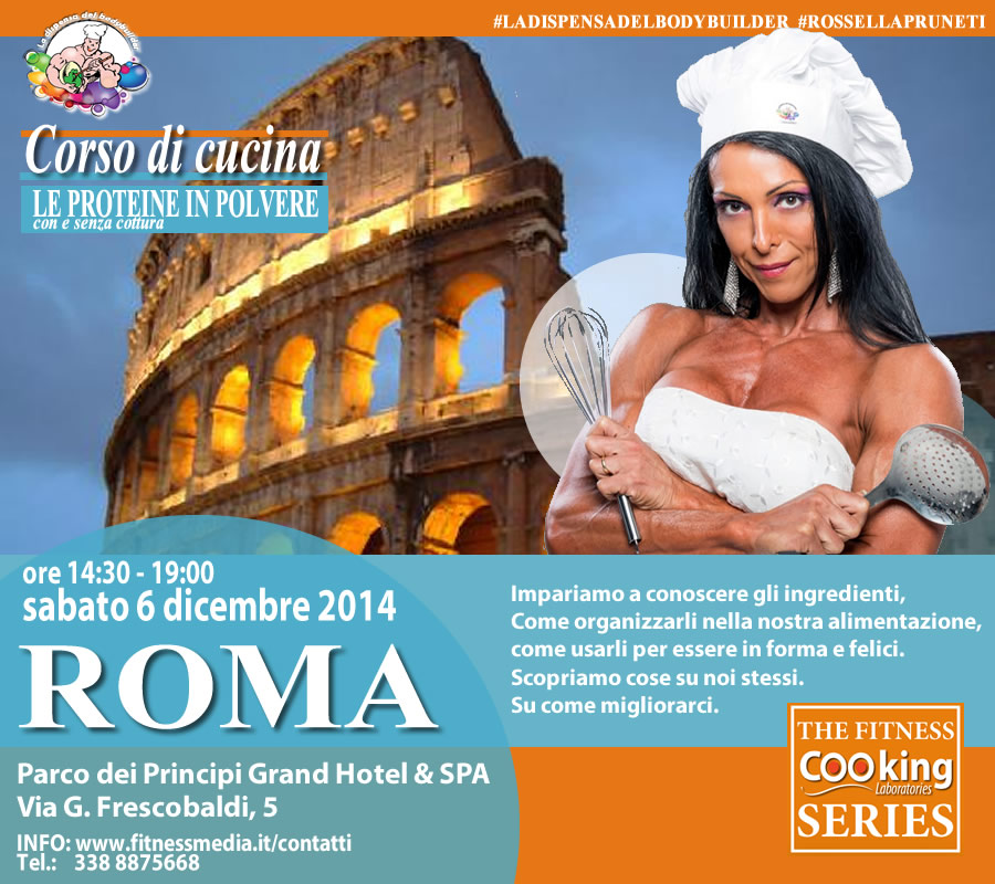 corso di cucina by rossella pruneti... a roma!