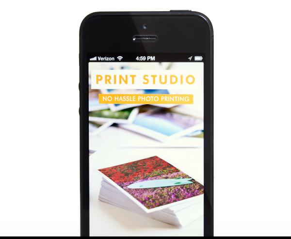 Get the Print Studio iPhone App