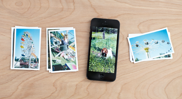 Order Matte quality prints directly from your iPhone