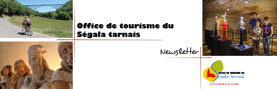 Newsletter | Office de tourisme du Ségala tarnais