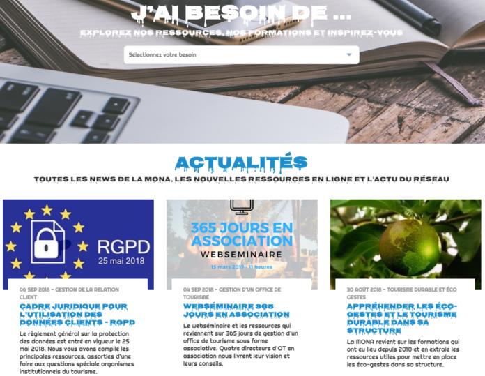 Choisir les polices de son site © eTourisme.info