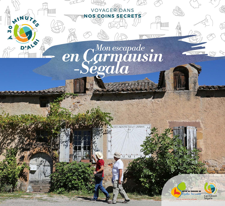 """Magazine """"Mon escapade en Carmausin-Ségal"""""""