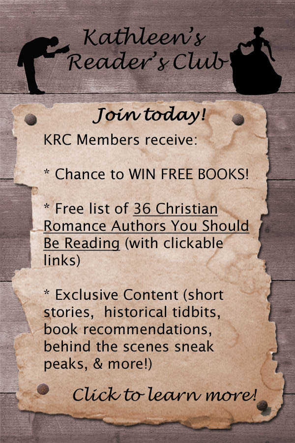 Join Kathleen's Readers' Club!