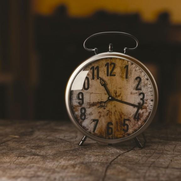 old round clock