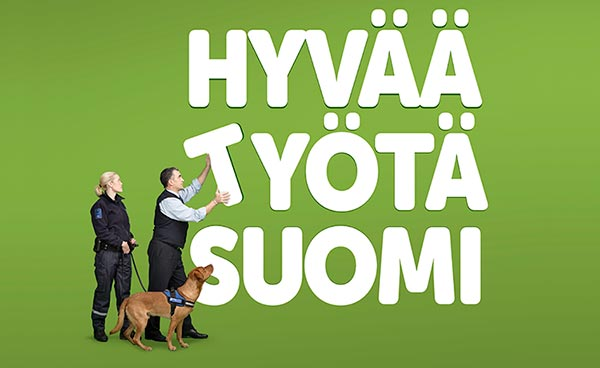 Hyvää työtä Suomi