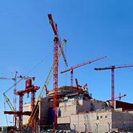 Olkiluoto 3:n rakennustyömaa