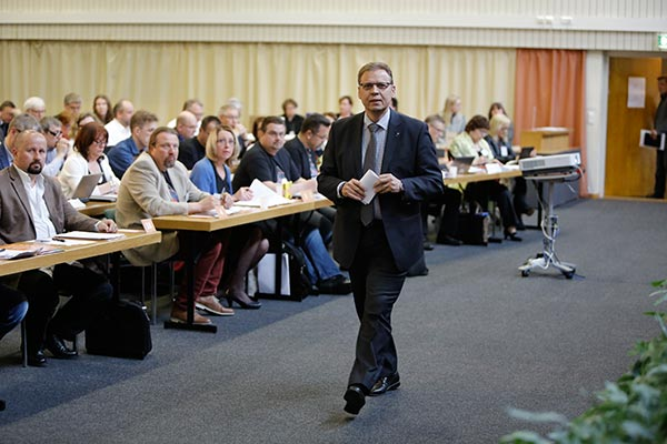 Lauri Lyly SAK:n valtuustossa