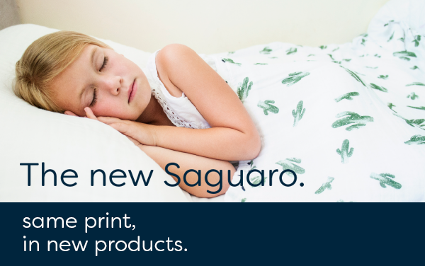 New Items in our Bestselling Saguaro Print