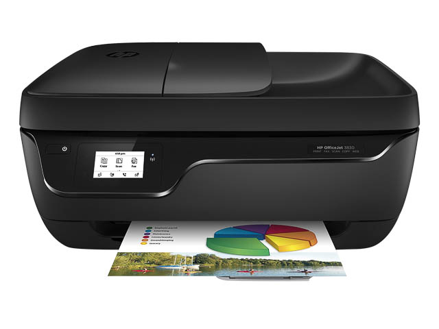 HP OfficeJet 3830 All-in-One printer - 600025440593