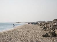 A view of the ocean at Dhanushkodi
