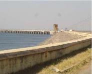 Pochampad dam, Sri Ram Sagar Project, Andhra Pradesh; Phase II of the project is being funded under AIBP