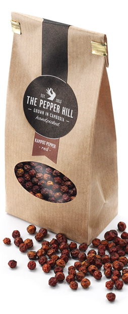 Roter Kampot Pfeffer von The Pepper Hill