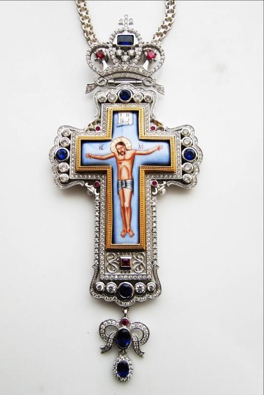 Silver Pectoral Cross - 307