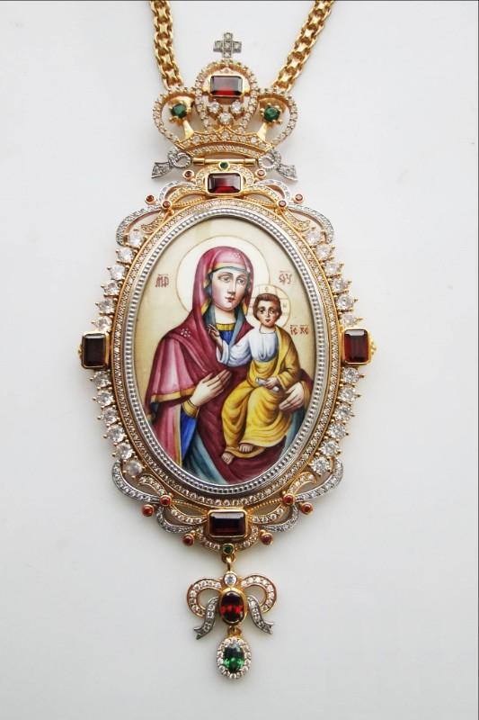 Silver Archiepiscopal Engolpion - 306