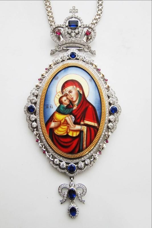 Silver Archiepiscopal Engolpion - 308