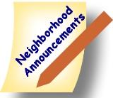 MCGC Neighbors - Neighborhood Announcements