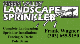 Green Valley Landscape and Sprinkler