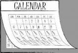 MCGC Neighbors Calendar at a Glance