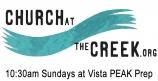 Church at the Creek - 10:30 Sundays