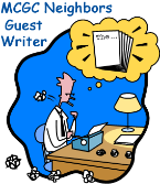 MCGC Neighbors Guest Writers Wanted