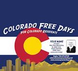 Colorado Free Days