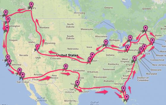 Draft map