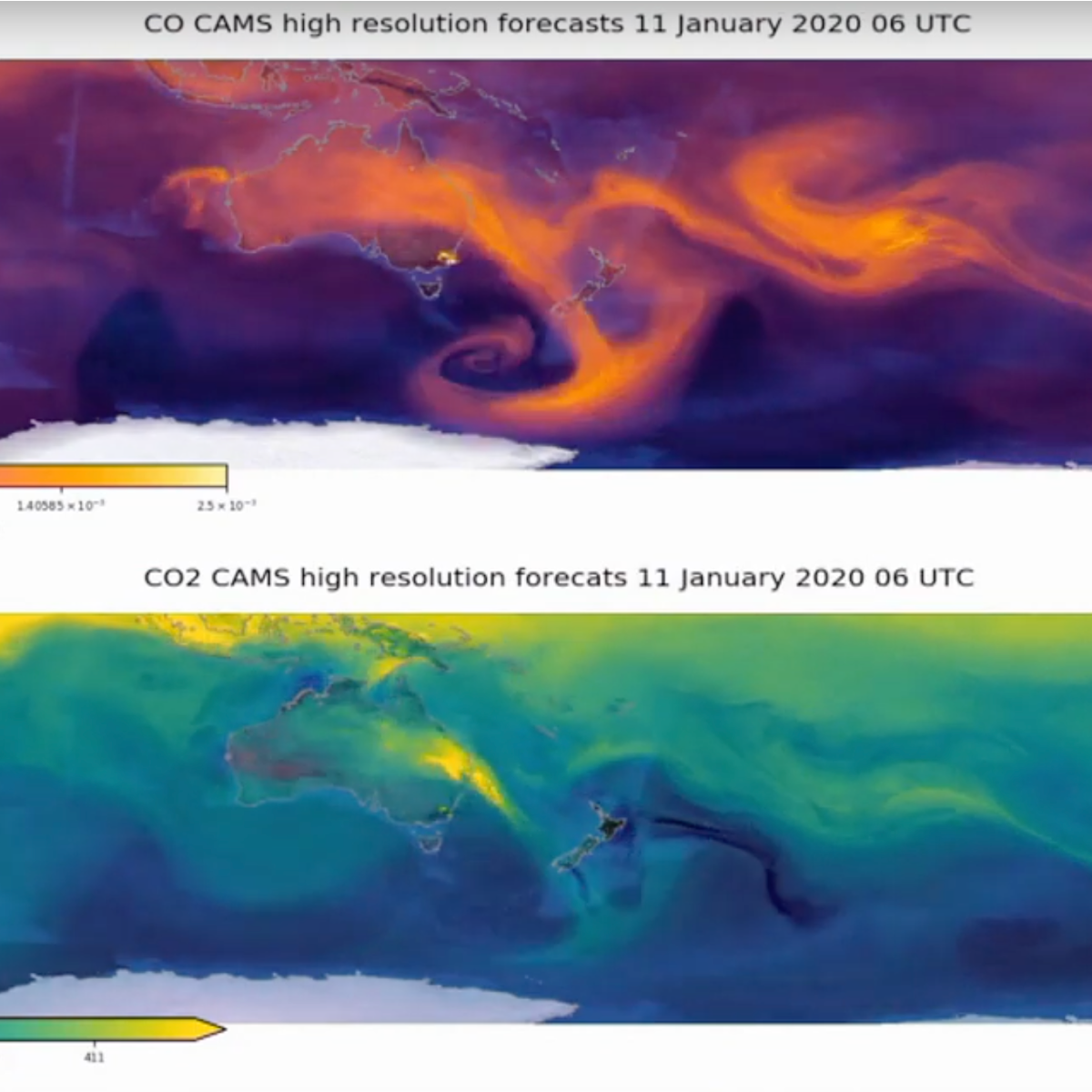 CO CAMS High Resolution forecasts