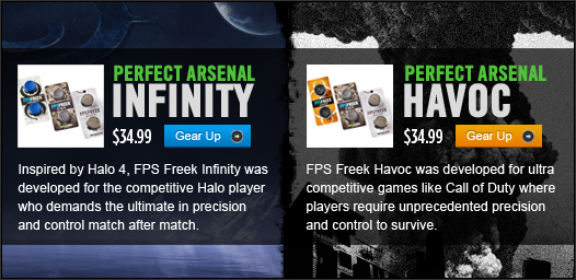 Perfect Arsenal Infinity & Halo