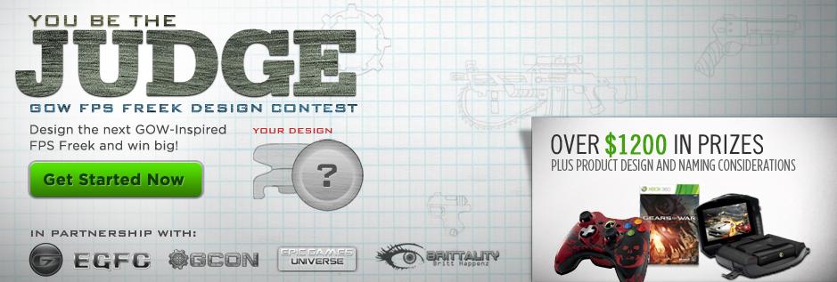 Gears of War: Judgment Design Contest - KontrolFreek
