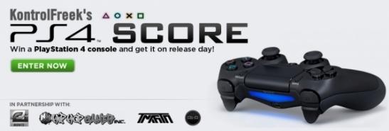 KontrolFreek PS4 Score