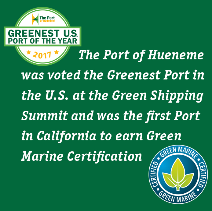 Port - Greenest Port and Green Marine